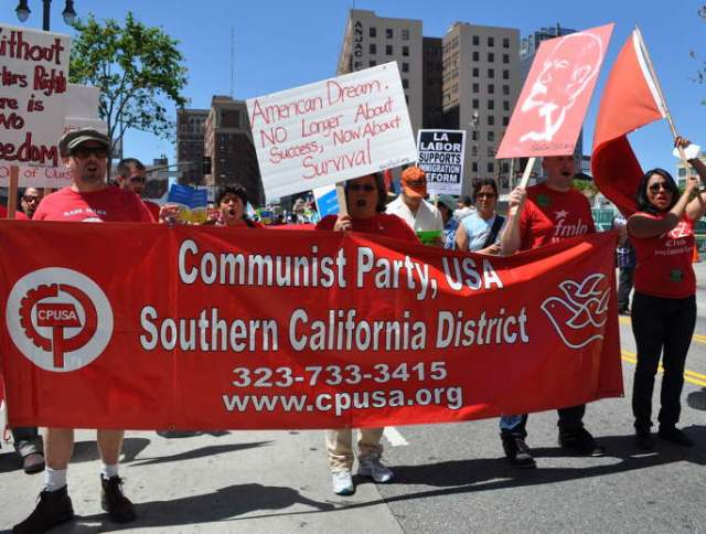 Just Another Racist Mexican May Day Socialist Communist Party Hate